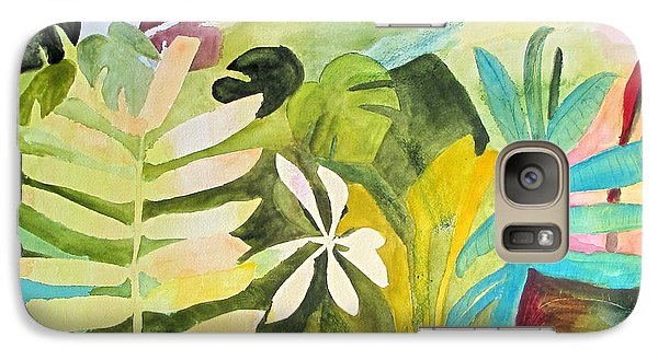 Galaxy Case featuring the painting Sometimes I Miss The Tropics by Sandy McIntire