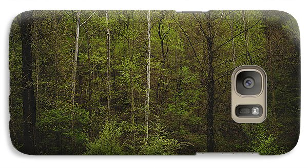 Galaxy Case featuring the photograph Somewhere In The Woods by Shane Holsclaw