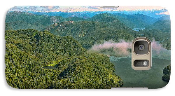 Galaxy Case featuring the photograph Over Alaska - June  by Madeline Ellis