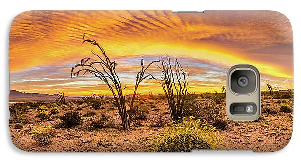 Galaxy Case featuring the photograph Somewhere Over by Peter Tellone
