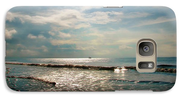 Galaxy Case featuring the photograph Song Of The Sea by Amy Tyler