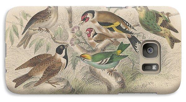 Songbirds Galaxy Case by Rob Dreyer