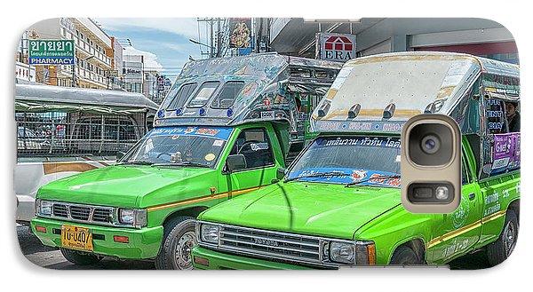 Galaxy Case featuring the photograph Songthaew Taxi by Antony McAulay