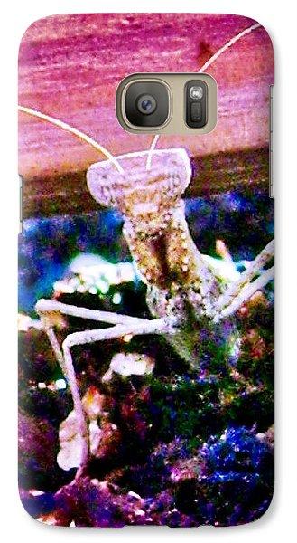 Sonoran Desert Ground Mantis Galaxy S7 Case