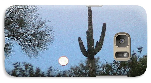 Sonoran Desert Moonset Galaxy S7 Case