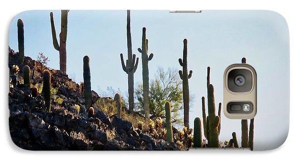 Sonoran Desert Saguaro Slope Galaxy S7 Case