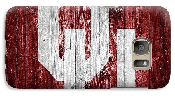 Sooners Barn Door Galaxy S7 Case