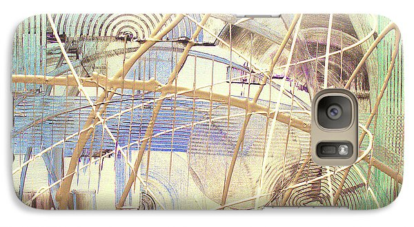 Galaxy Case featuring the painting Soothe by Melissa Goodrich