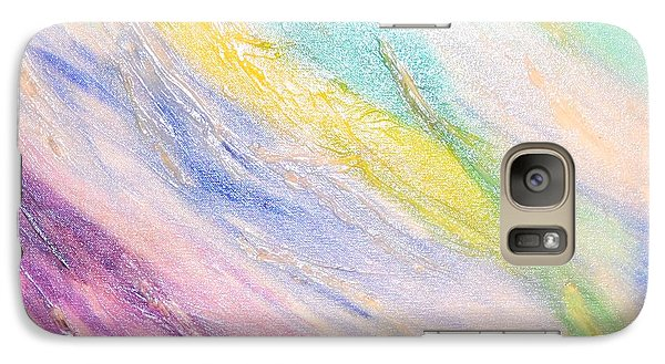 Galaxy Case featuring the painting Soothing by Lori Jacobus-Crawford