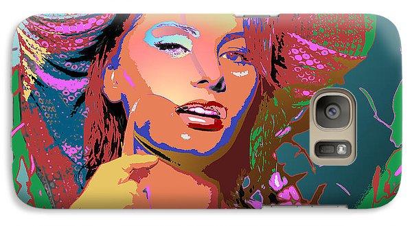 Galaxy Case featuring the digital art Sophia 4 by John Keaton