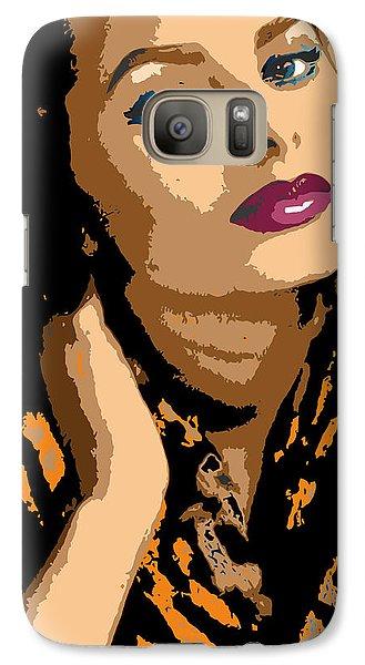 Galaxy Case featuring the digital art Sophia by John Keaton