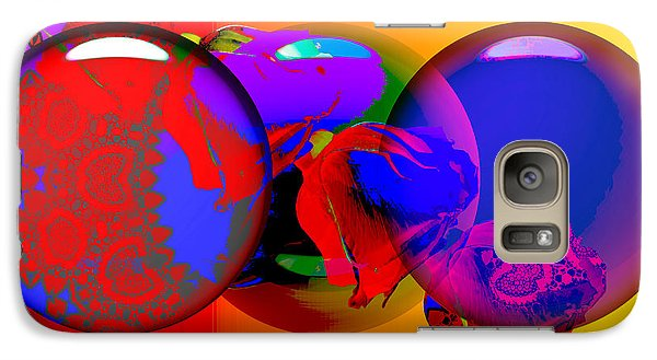 Galaxy Case featuring the digital art Sophistacated Lady by Robert Orinski