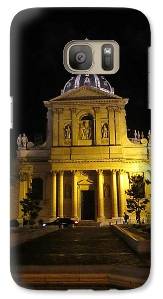 Galaxy Case featuring the photograph Sorbonne Night by Christopher Kirby