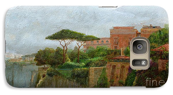 Mountain Galaxy S7 Case - Sorrento Albergo by Trevor Neal