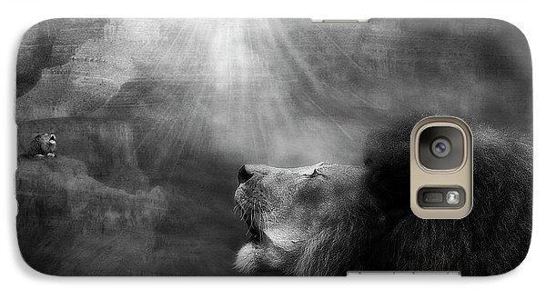 Galaxy Case featuring the photograph Sorrow's Call by Yvonne Emerson