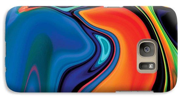 Galaxy Case featuring the digital art Soul Bird 2 by Rabi Khan
