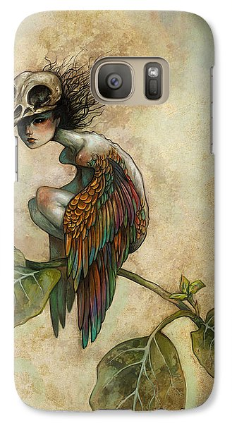 Soul Of A Bird Galaxy Case by Caroline Jamhour