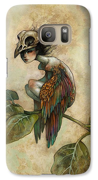 Galaxy S7 Case - Soul Of A Bird by Caroline Jamhour