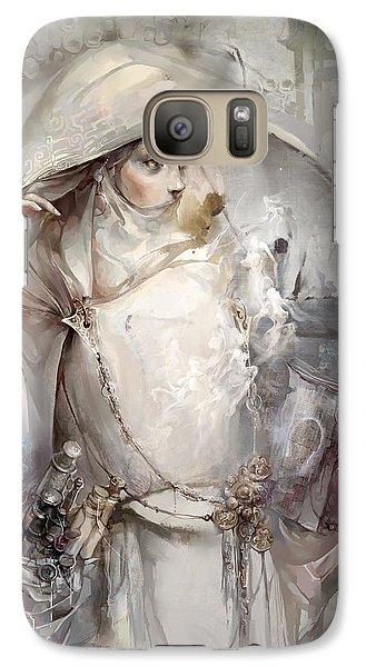 Galaxy Case featuring the digital art Soul by Te Hu