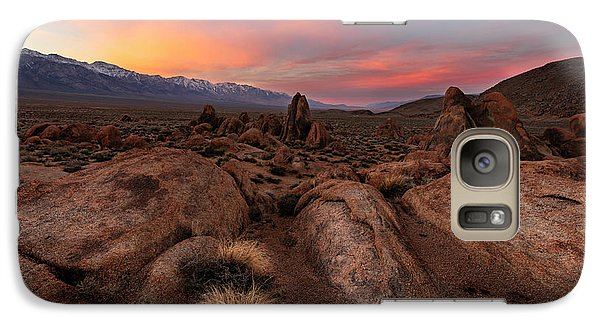Galaxy Case featuring the photograph Sounds Of Silence by Mike Lang