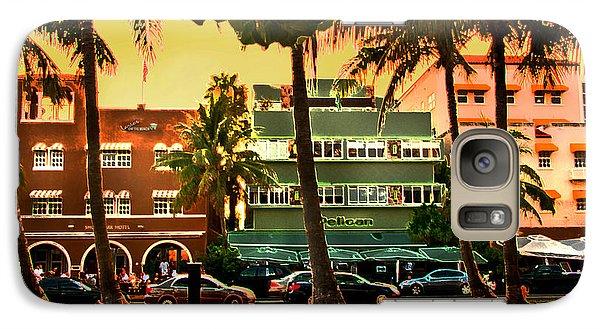 South Beach Ocean Drive Galaxy S7 Case