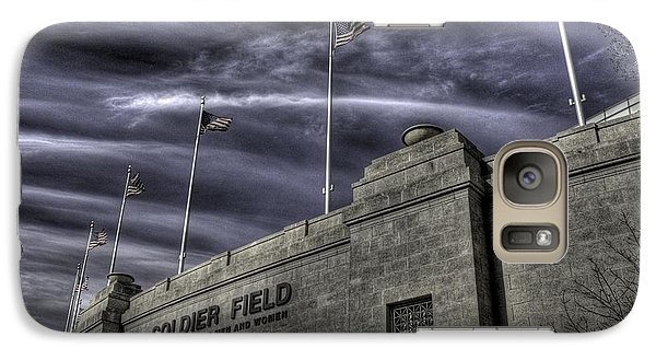 Soldier Field Galaxy S7 Case - South End Soldier Field by David Bearden
