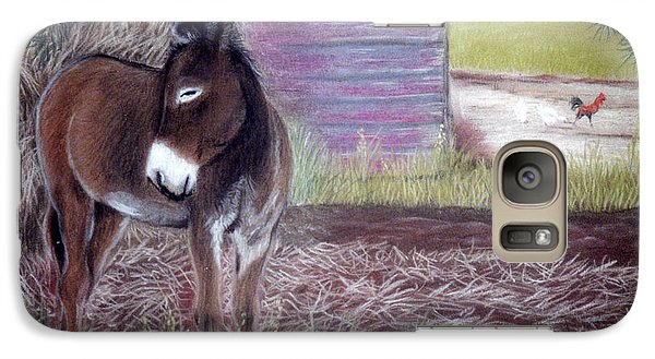 Galaxy Case featuring the pastel South Georgia Mule by Jan Amiss