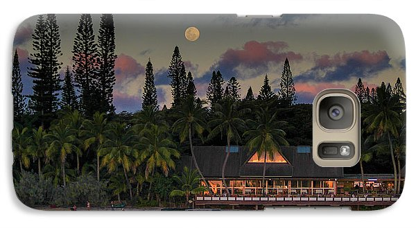 South Pacific Moonrise Galaxy S7 Case