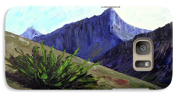 South Side Of O'malley Peak Galaxy S7 Case