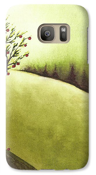 Galaxy Case featuring the painting South Wind by Danielle R T Haney