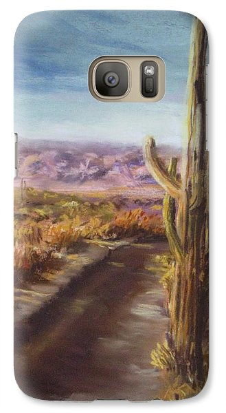 Galaxy Case featuring the painting Southern Arizona by Jack Skinner