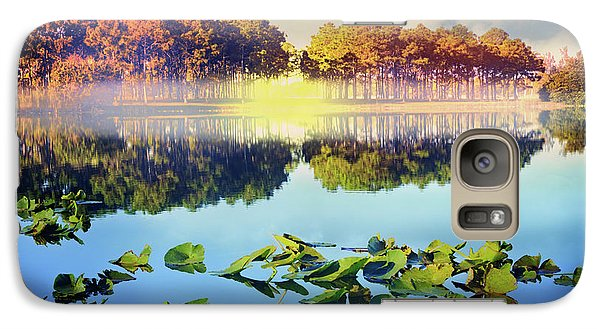 Galaxy Case featuring the photograph Southern Beauty by Debra and Dave Vanderlaan