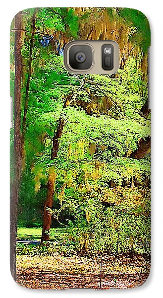 Galaxy Case featuring the photograph Southern Forest by Donna Bentley