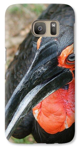 Southern Ground Hornbill Galaxy S7 Case