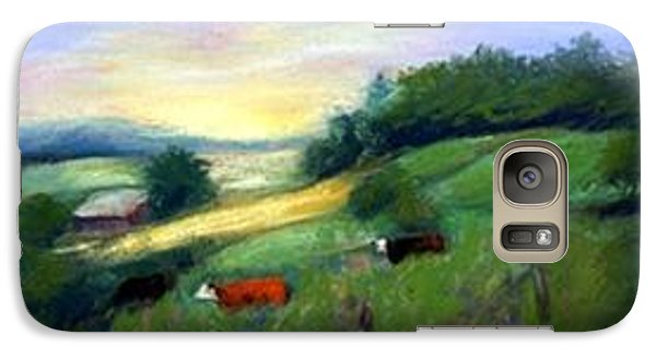 Galaxy Case featuring the painting Southern Ohio Farm by Gail Kirtz