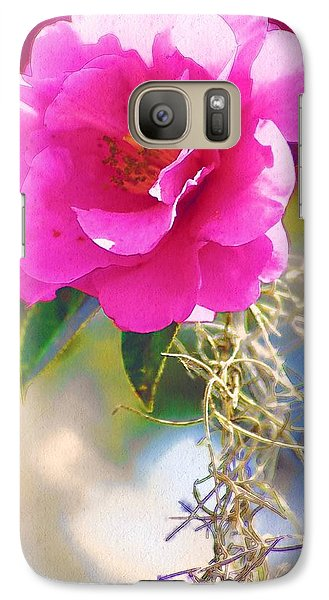 Galaxy Case featuring the digital art Southern Rose by Donna Bentley