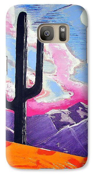 Galaxy Case featuring the painting Southwest Skies 2 by J R Seymour