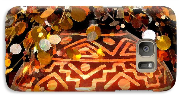 Galaxy Case featuring the digital art Southwest Vase Art by Gary Baird