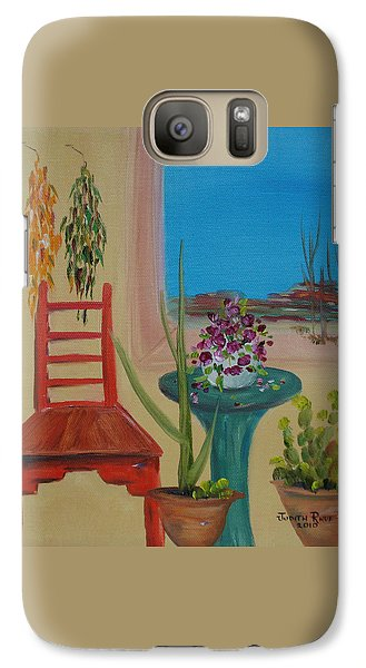 Galaxy Case featuring the painting Southwestern 6 by Judith Rhue