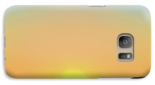 Galaxy Case featuring the photograph Southwestern Sunset by David Gordon