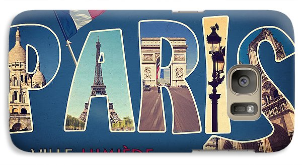 Souvernirs De Paris Galaxy S7 Case by Delphimages Photo Creations