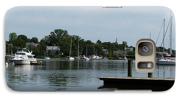 Galaxy Case featuring the photograph Spa Creek From The Park  by Donald C Morgan