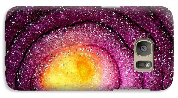 Galaxy Case featuring the photograph Space Allium by Danielle R T Haney