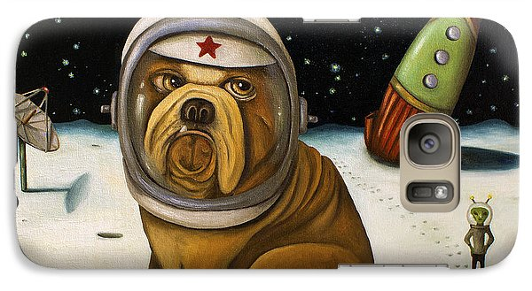 Space Crash Galaxy S7 Case by Leah Saulnier The Painting Maniac
