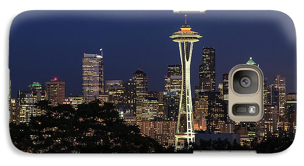 Galaxy Case featuring the photograph Space Needle by David Chandler