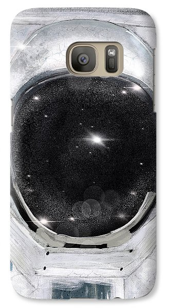 Galaxy Case featuring the painting Space Selfie by Bri B