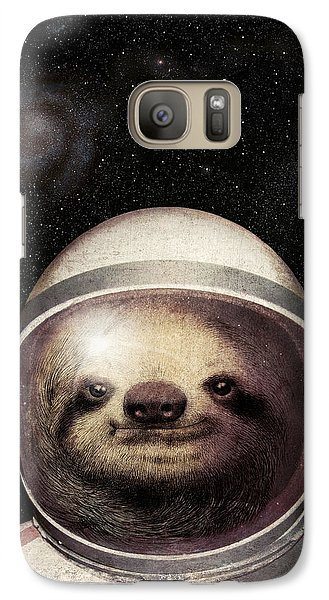 Space Sloth Galaxy S7 Case