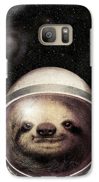 Space Sloth Galaxy Case by Eric Fan