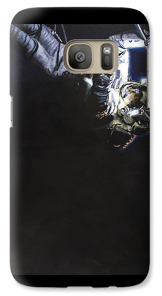 Spacewalk 1  Galaxy Case by Simon Kregar