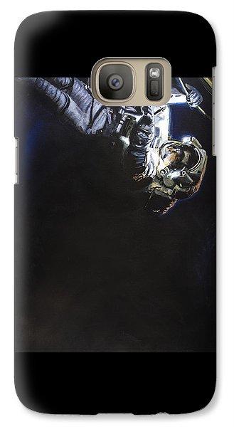 Astronaut Galaxy S7 Case - Spacewalk 1  by Simon Kregar